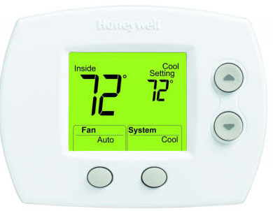 Large Screen Premier White® Heating & Cooling Thermostat
